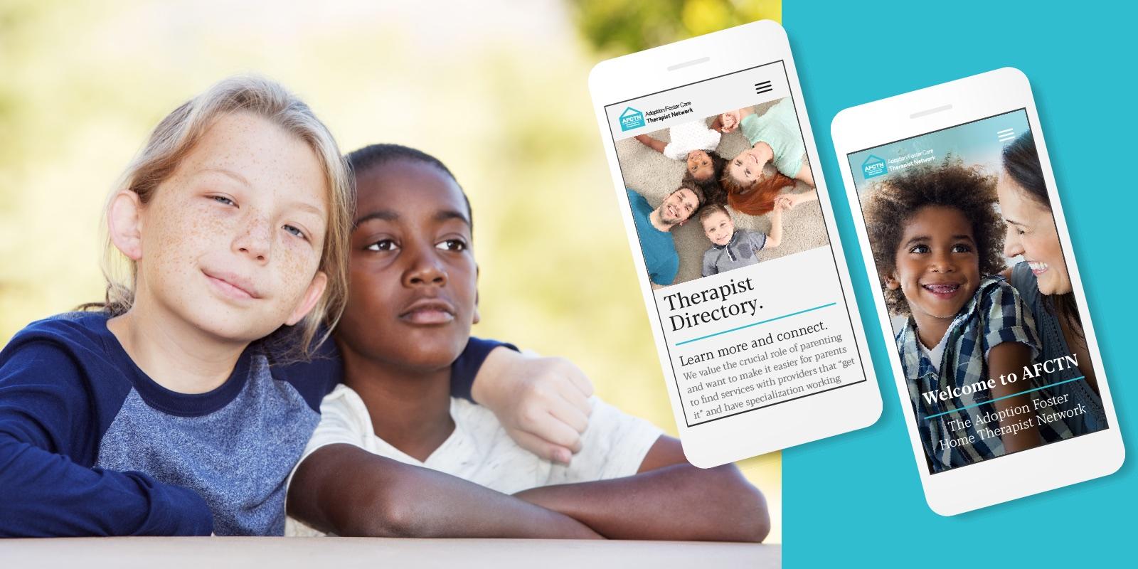 AFCTN-Adoption-Foster-Care-Therapist-Network-website-design