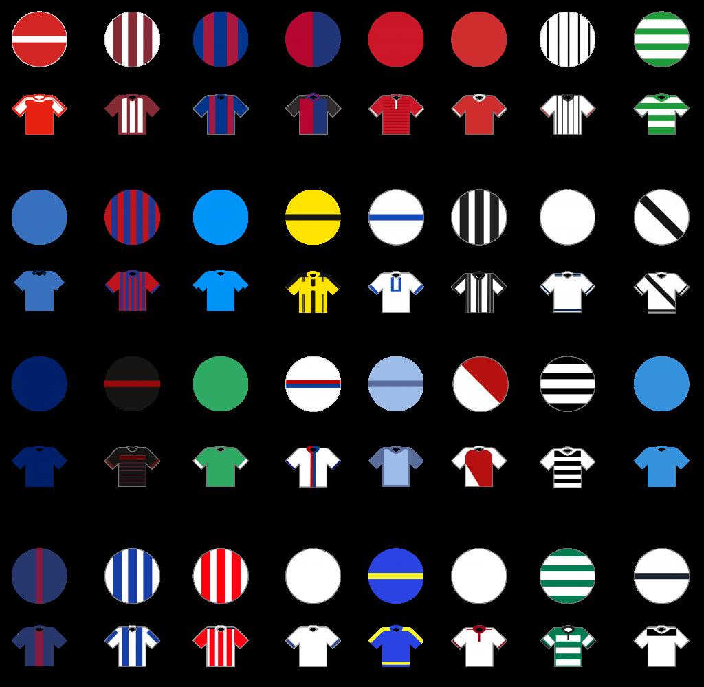 Pundit Club app shirt designs Champions League