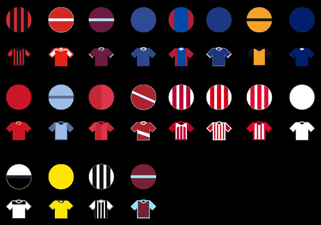 Pundit Club app shirt designs English Premier League
